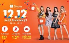 Shopee chính thức khởi động sự kiện 12-12 Shopee Sale Sinh Nhật mua sắm online lớn nhất năm