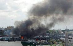 Vụ cháy cạnh chợ nổi Cái Răng: hỗ trợ 7 nhà bị cháy