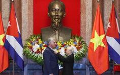 Chùm ảnh Chủ tịch Cuba Miguel Díaz-Canel thăm Việt Nam