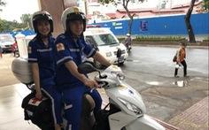 TP Hồ Chí Minh thử nghiệm xe cấp cứu cơ động 2 bánh