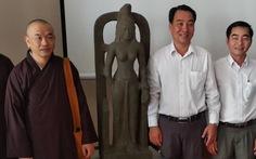 Nhà sư giao nộp tượng nữ thần cổ 7,5 tỉ, được thưởng 75 triệu
