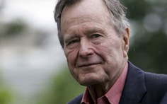 Ông Bush 'cha' từng nghỉ một đêm ở TP.HCM