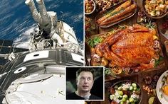 Có gì trong tiệc mừng giáng sinh trên trạm ISS?