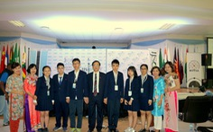 Kỳ thi Khoa học trẻ quốc tế 2018: Việt Nam có 4 Vàng, 2 Bạc