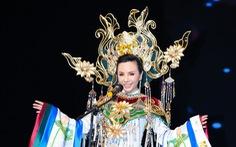 Châu Ngọc Bích đăng quang Hoa hậu quý bà hoàn vũ thế giới 2018