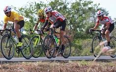 Tay đua Trần Thanh Điền gặp tai nạn ở chặng 4 trên đất Lào