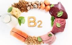 Vitamin B2 và nguồn thực phẩm chứa nhiều vitamin B2