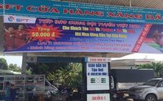 Cây xăng miễn phí cho khách có tên trùng với bốn cầu thủ Việt Nam