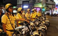 Không được dùng xe ba bánh chở người cổ vũ đội tuyển Việt Nam