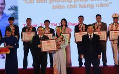 Trao thưởng 28 sản phẩm, công trình sáng tạo trẻ năm 2018