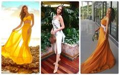 Kiểu catwalk 'nham thạch' của Hoa hậu Hoàn vũ Catriona Gray