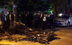Nữ tài xế xe Lexus có nồng độ cồn cao khi gây tai nạn liên hoàn