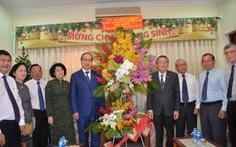 Bí thư Nguyễn Thiện Nhân chúc mừng Hội thánh Tin lành Việt Nam