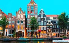 Tour châu Âu: Pháp - Đức - Hà Lan - Bỉ