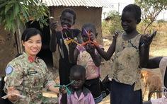 Lính Việt Nam ở châu Phi - kỳ 1: Nữ thiếu tá Việt đầu tiên ở Nam Sudan