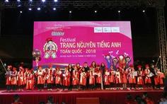 Đông đảo trẻ em tham gia Festival Trạng Nguyên Tiếng Anh