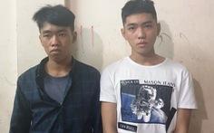 Hình sự đặc nhiệm phóng xe bắt hai thanh niên cướp giật trên phố