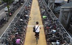 Ngạc nhiên với một đất nước xe đạp nhiều hơn người