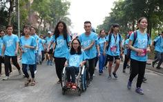 2.000 sinh viên tham gia đường chạy nghị lực