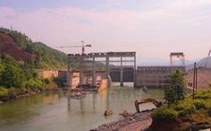 Vỡ đê bao ngăn nước thủy điện Sông Lô 2