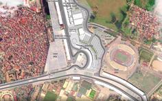Cống hóa mương hở làm đường đua F1
