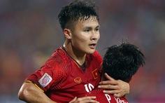 Video cầu thủ Việt Nam ăn mừng khi có vé đi tiếp ở Asian Cup