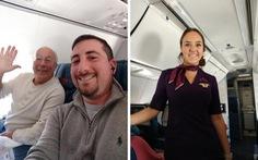 Cha bay cùng 6 chuyến để con gái tiếp viên không cô đơn dịp Giáng Sinh