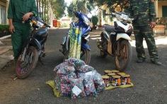 Quảng Bình: Liên tiếp bắt giữ 2 vụ vận chuyển pháo lậu trên địa bàn