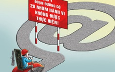 Từ 1-1-2019: cấm 20 nhóm hành vi trên mạng