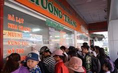 Lễ 2-9, các bến xe lớn tại TP.HCM tăng giá vé không quá 40%