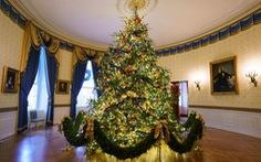 Ấn tượng không khí đón giáng sinh tại Nhà Trắng, Mỹ
