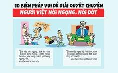 10 biện pháp vui giải quyết chuyện người Việt nói ngọng