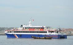 Tàu cao tốc hai thân đầu tiên chạy tuyến Phan Thiết - Phú Quý