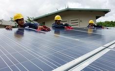 Điện mặt trời vướng dây dẫn