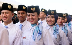 Đại biểu tàu thanh niên Đông Nam Á - Nhật Bản lưu luyến chia tay TP.HCM