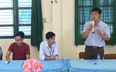 Chồng nữ phụ huynh xin lỗi thầy giáo Hồ Văn Khánh
