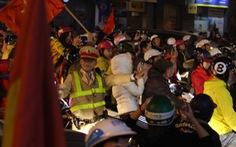 Hơn 1.000 cảnh sát giao thông Hà Nội bảo vệ an ninh trận Việt Nam - Philippines