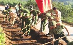 Dân hiến đất mở đường, xây miếu tri ân hai liệt sĩ phi công