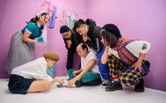 Lộn Xộn Band tung MV đầu tay 'Bấm # cho anh đi lên'
