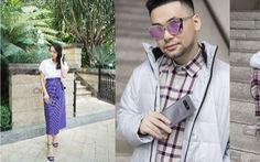 Cùng các Fashionista Việt tạo dấu ấn thời trang với màu tím khói