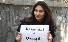 Kazakhstan phải sửa bảng cải tiến chữ viết vì bị dân phản ứng