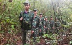 Những người lính trong rừng quốc gia Bù Gia Mập