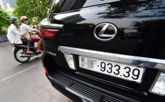 Chia biển số xe 'đẹp' theo 5 nhóm để đấu giá