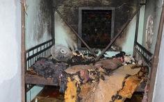 Ghen tuông phóng hỏa đốt nhà vợ, 3 người bỏng nặng
