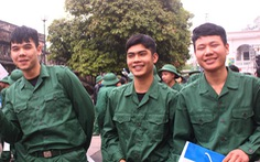 Gần 2.000 thanh niên thủ đô tình nguyện nhập ngũ