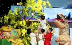 Xem clip hài đậm không khí tết trong Cười xuyên Việt