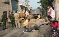 Xe tải lùi bất cẩn, một nữ sinh bị cán chết trên đường đi học về