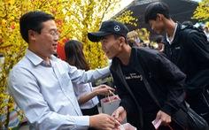 'Chuyến xe mùa xuân' đưa 3.000 sinh viên về quê đón Tết