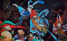 Choáng ngợp với tranh hát bội của các họa sĩ trẻ