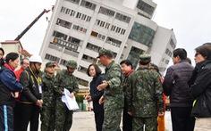 Vẫn còn 60 người bị mất tích sau động đất ở Đài Loan